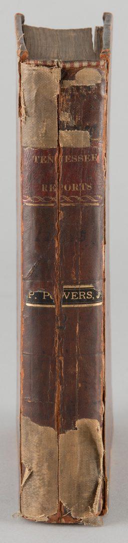 Lot 859: John Overton Tennessee Reports Nashville vol 2 1817
