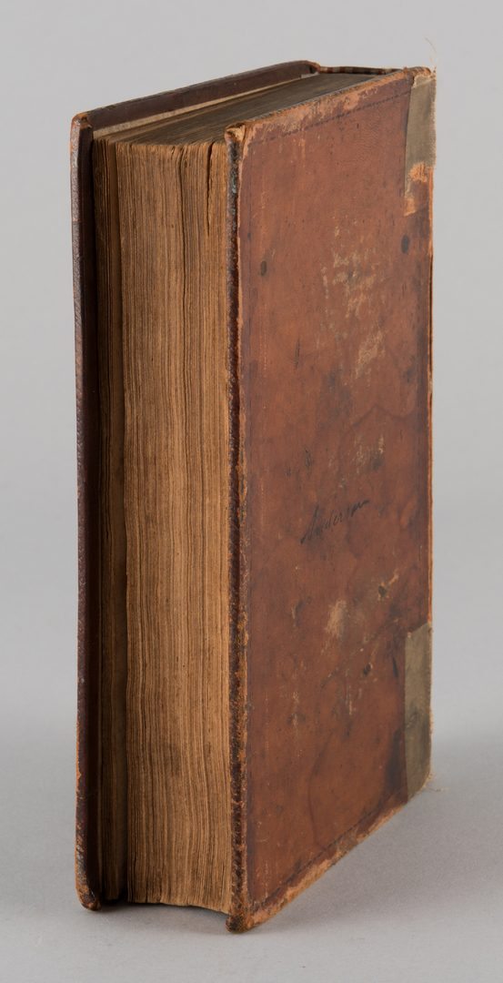 Lot 859: John Overton Tennessee Reports Nashville vol 2 1817