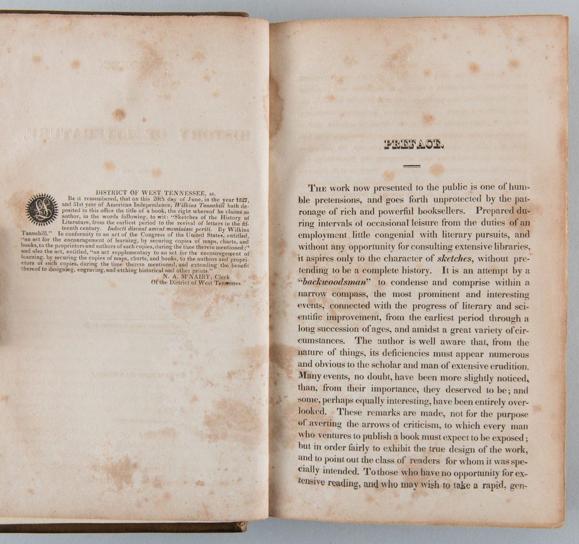 Lot 861: 2 Nashville Imprints: Tannehill and Life of Bishop