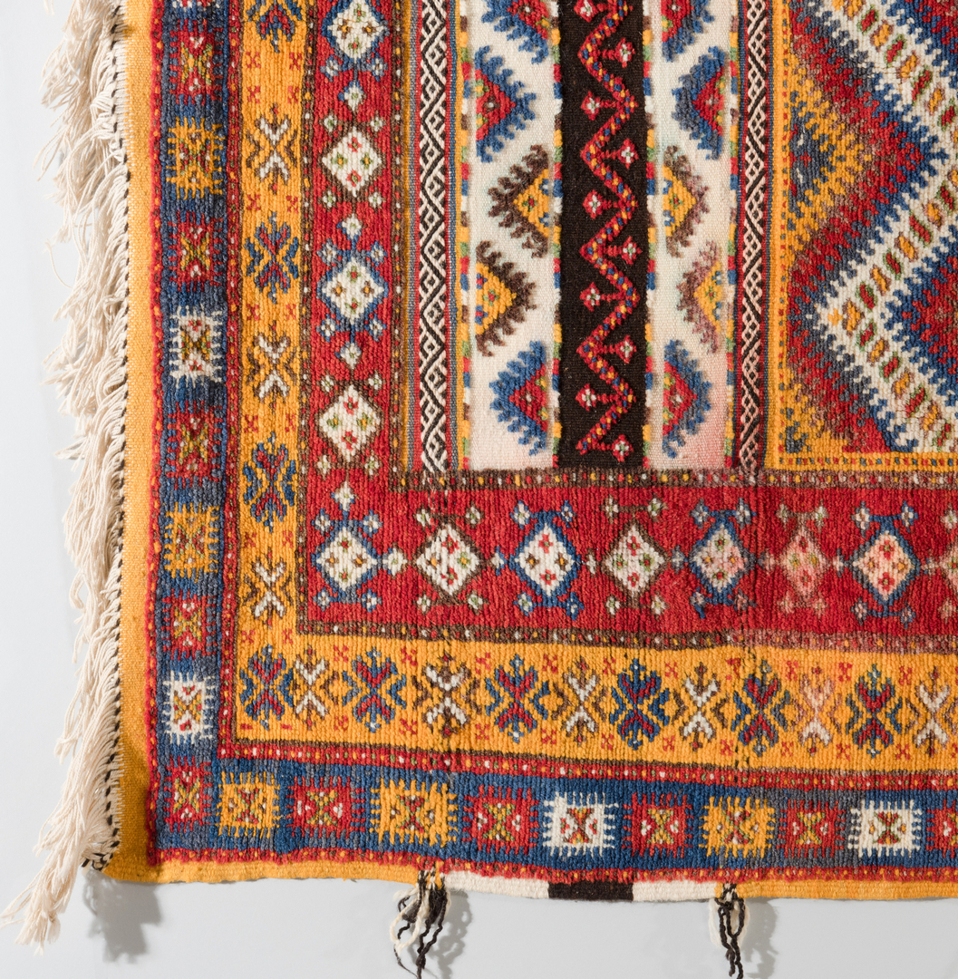 Lot 866: Group 3 Moroccan Tribal Rugs