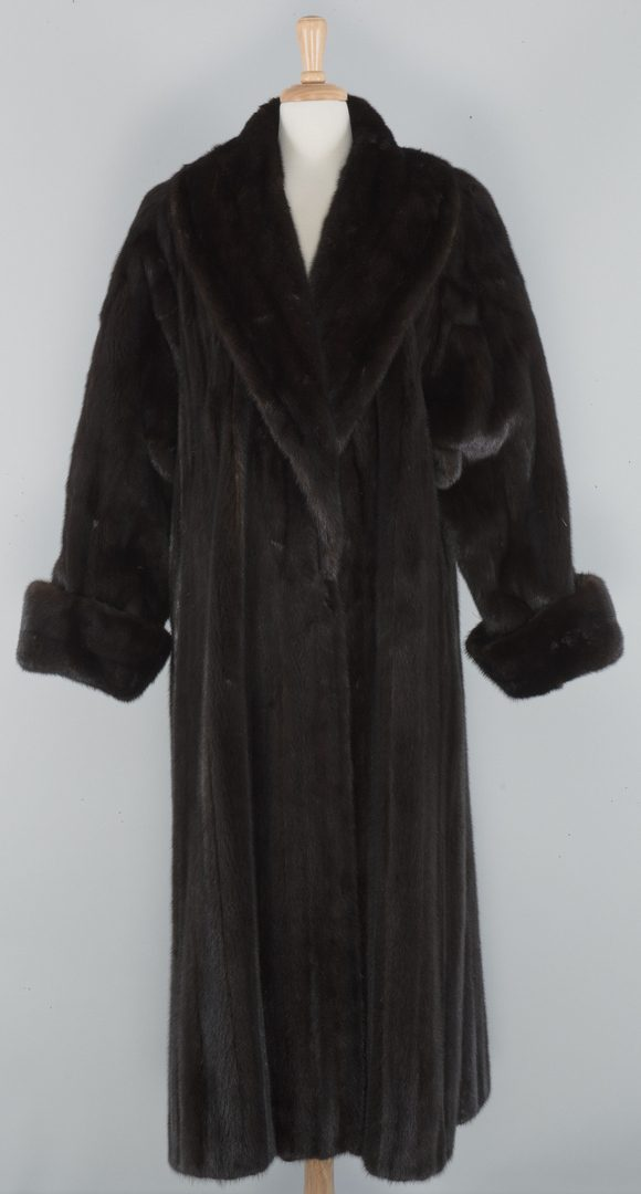Lot 867: Birger Christensen Full Length Mink Coat