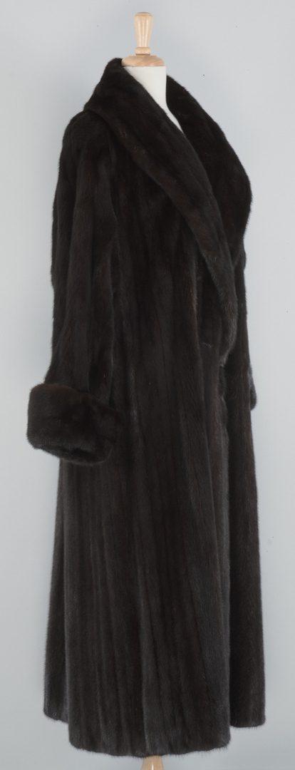 Lot 867: Birger Christensen Full Length Mink Coat