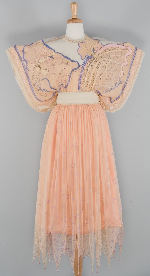 Lot 868: Zandra Rhodes Couture Butterfly Dress