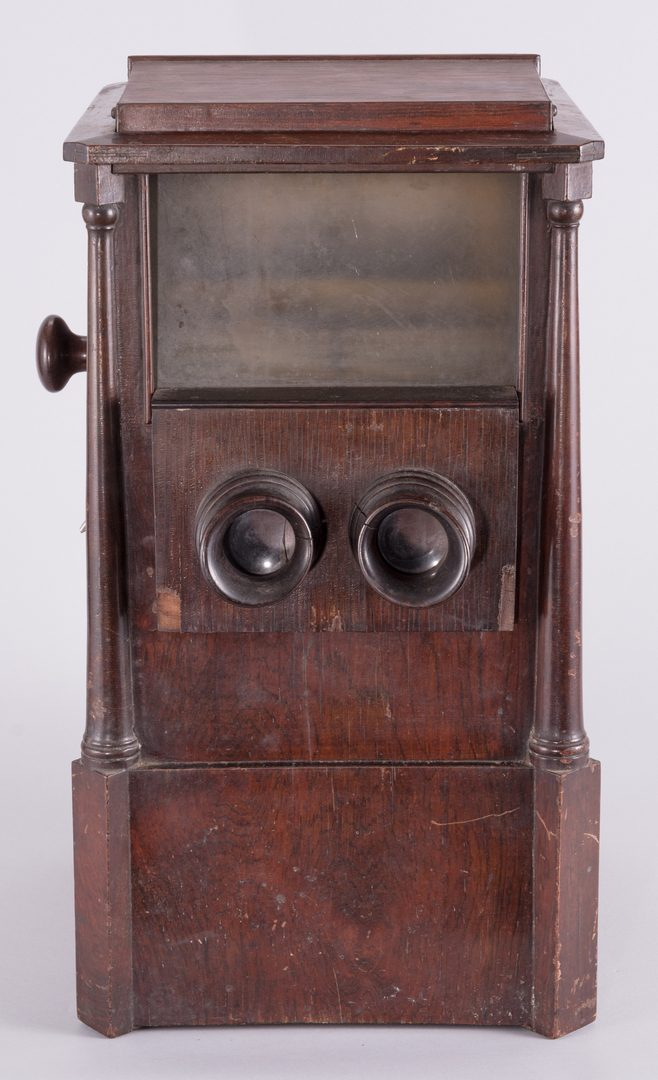 Lot 870: Sweetheart Revolving Stereoscope