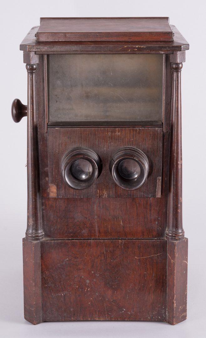 Lot 870: Sweetheart Revolving Stereoscope