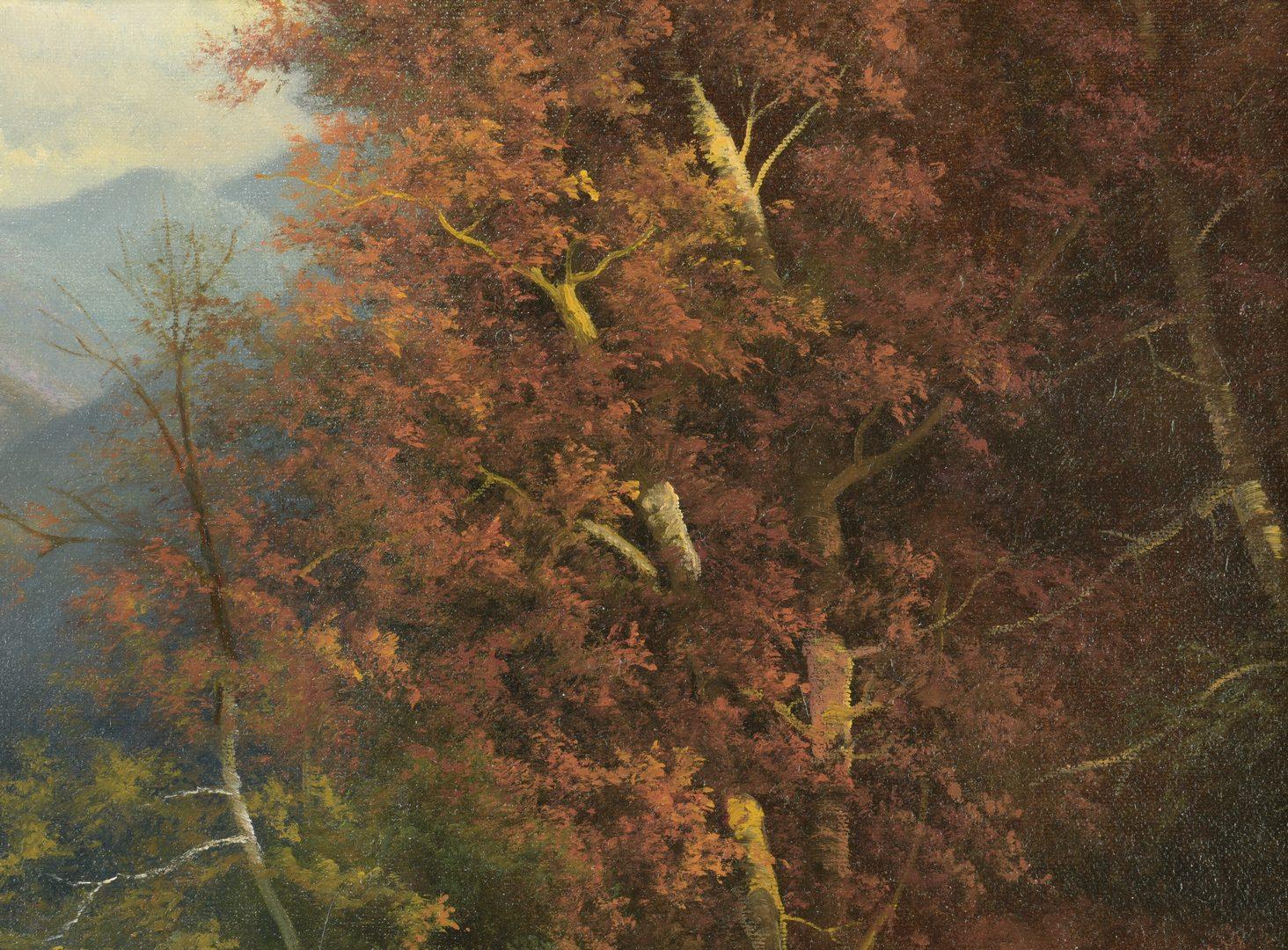 Lot 877: Ron Williams Oil on Canvas Landscape