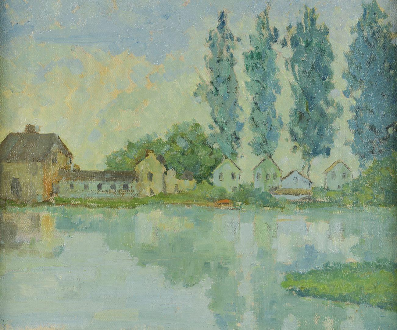 Lot 878: Two Landscapes inc. Dale Bratcher