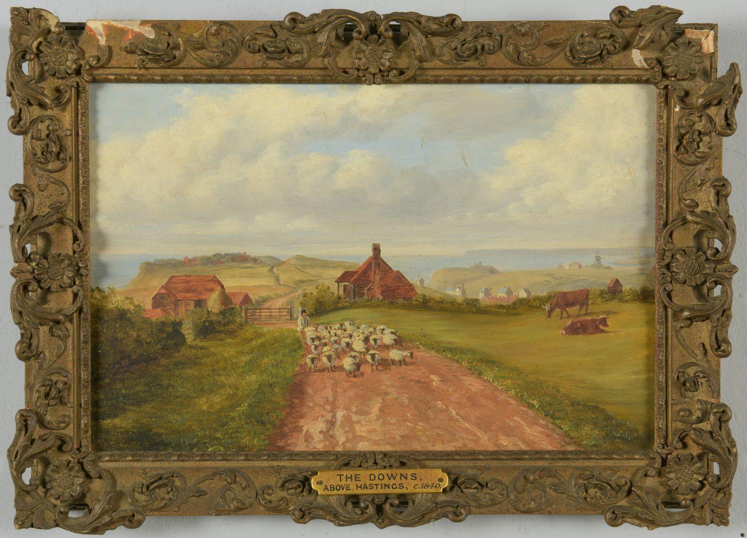 Lot 87: 3 English School Paintings c. 1840