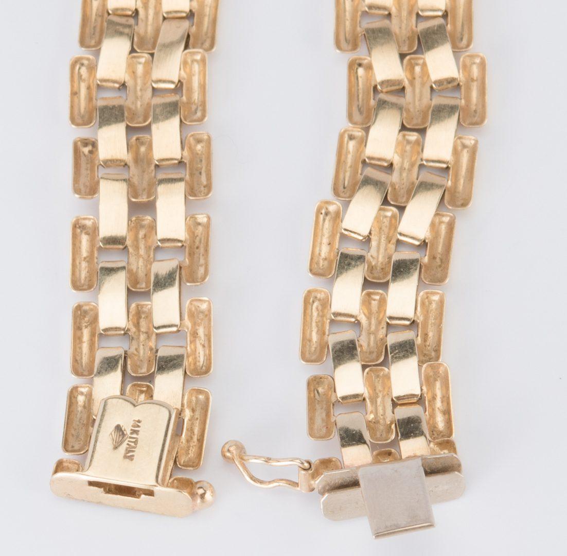 Lot 885: 14K Italian Collar Necklace
