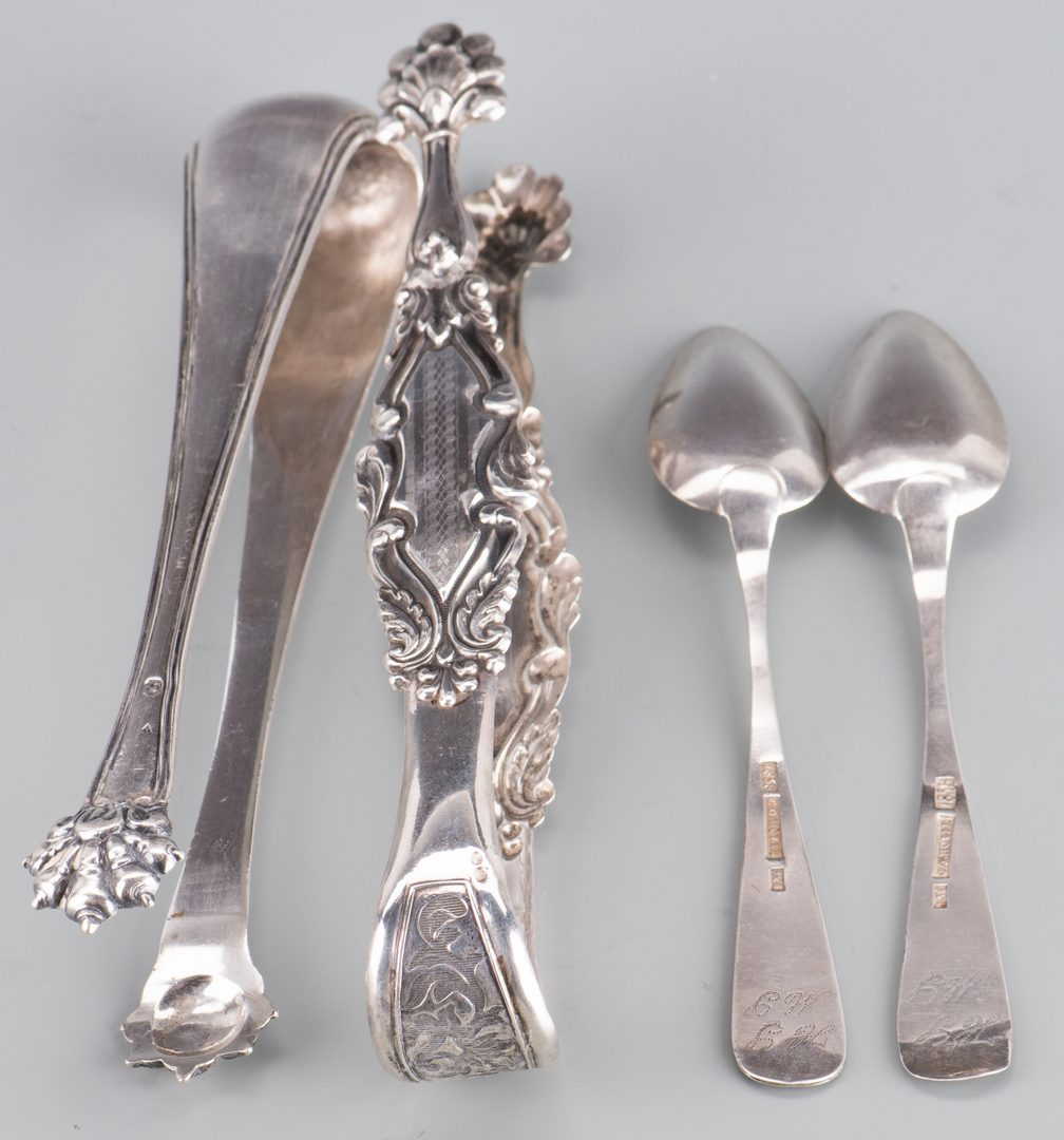 Lot 903: European Silver & Silverplate, 13 pcs