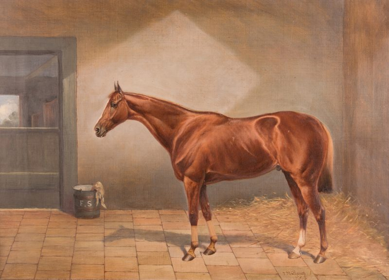 Lot 91: John Chester Mathews equine O/C