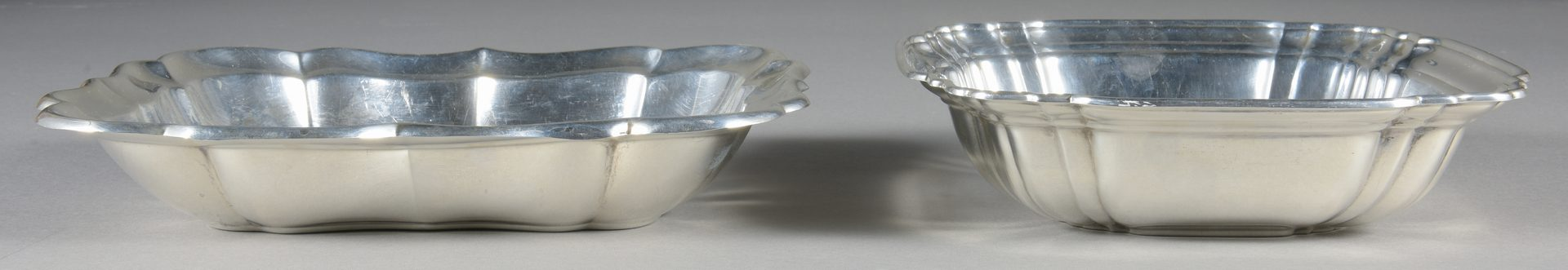 Lot 923: 2 Sterling Silver Serving Bowls