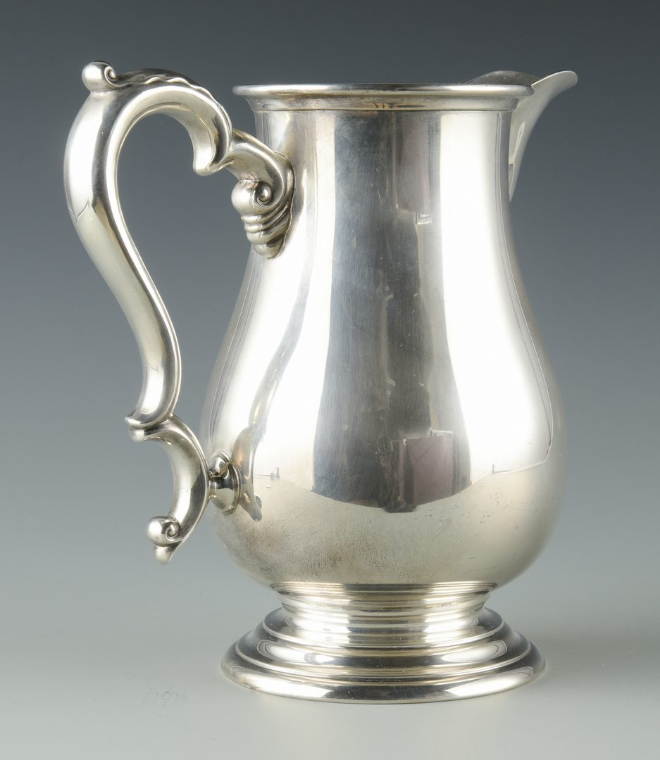 Lot 928: International Sterling Water Pitcher