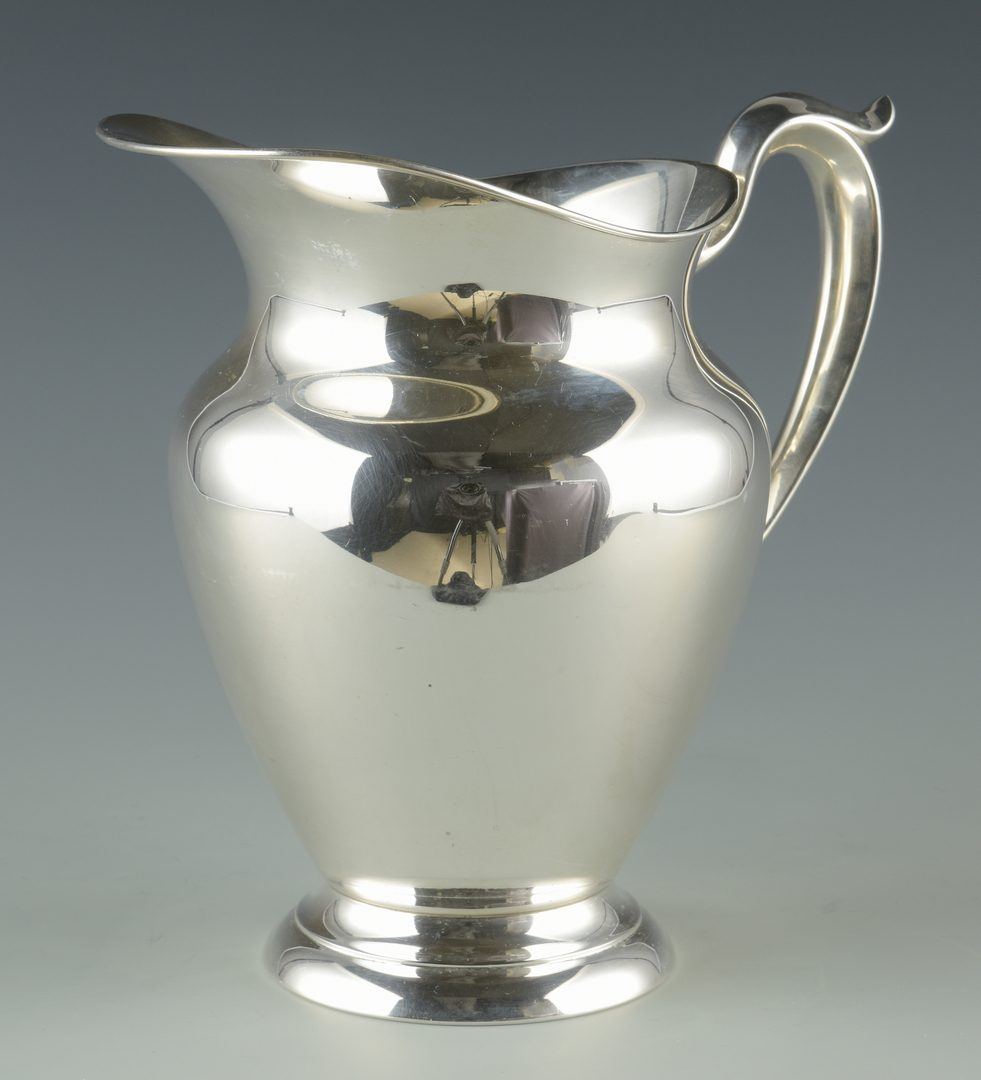 Lot 929: Gorham Sterling Water Pitcher