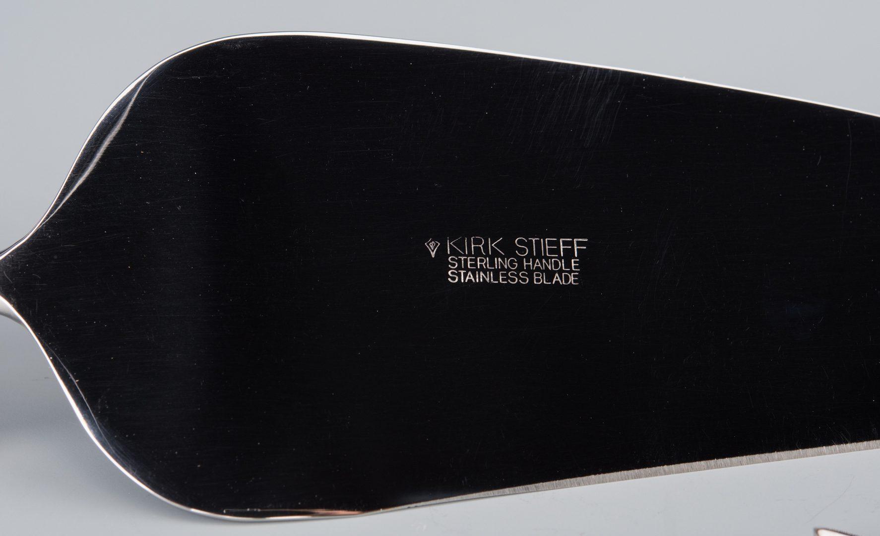 Lot 941: 9 pcs Kirk-Steiff Silver, new