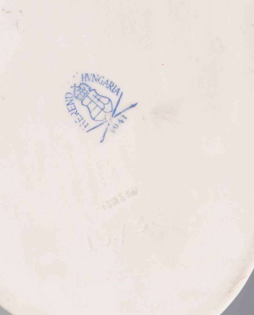 Lot 947: 2 European Porcelain Items