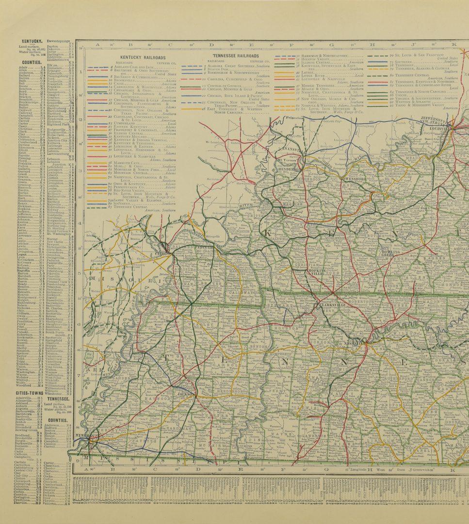 Lot 102: 4 19th c. KY & TN Maps