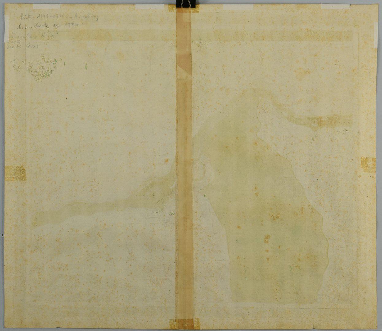 Lot 109: Tobias Conrad Lotter Map of Germany, Vienna, 1760