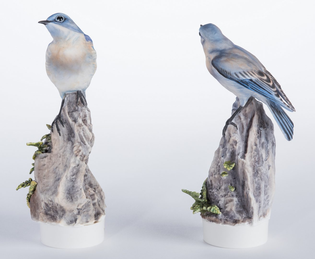 Lot 111: Pair Dorothy Doughty Mountain Bluebirds
