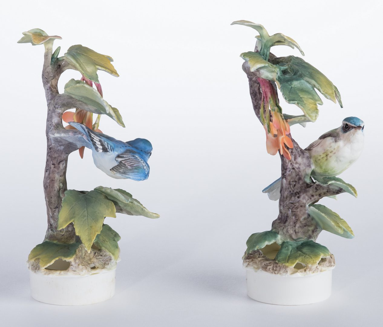 Lot 114: Pair Dorothy Doughty Cerulean Warblers