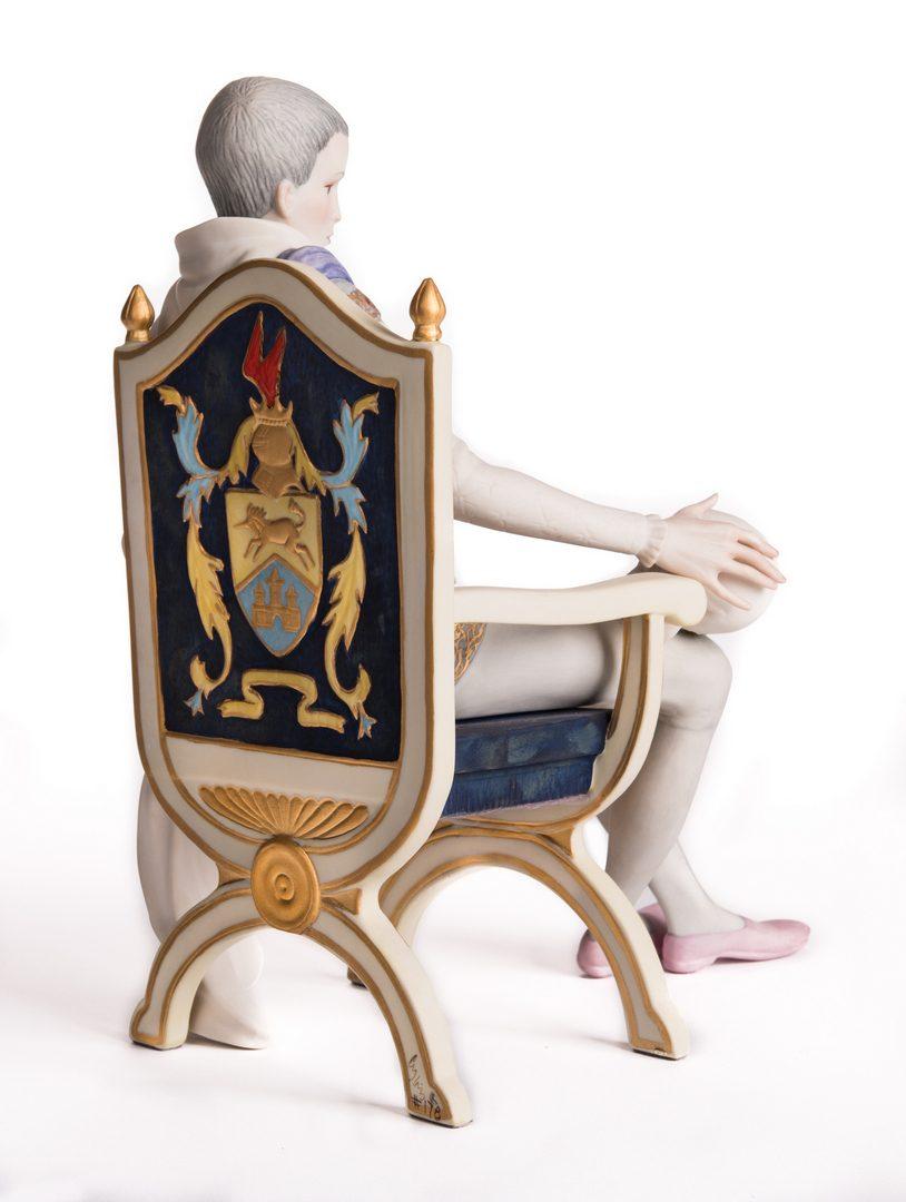 "Lot 116: Cybis ""Hamlet"" Porcelain Figurine"