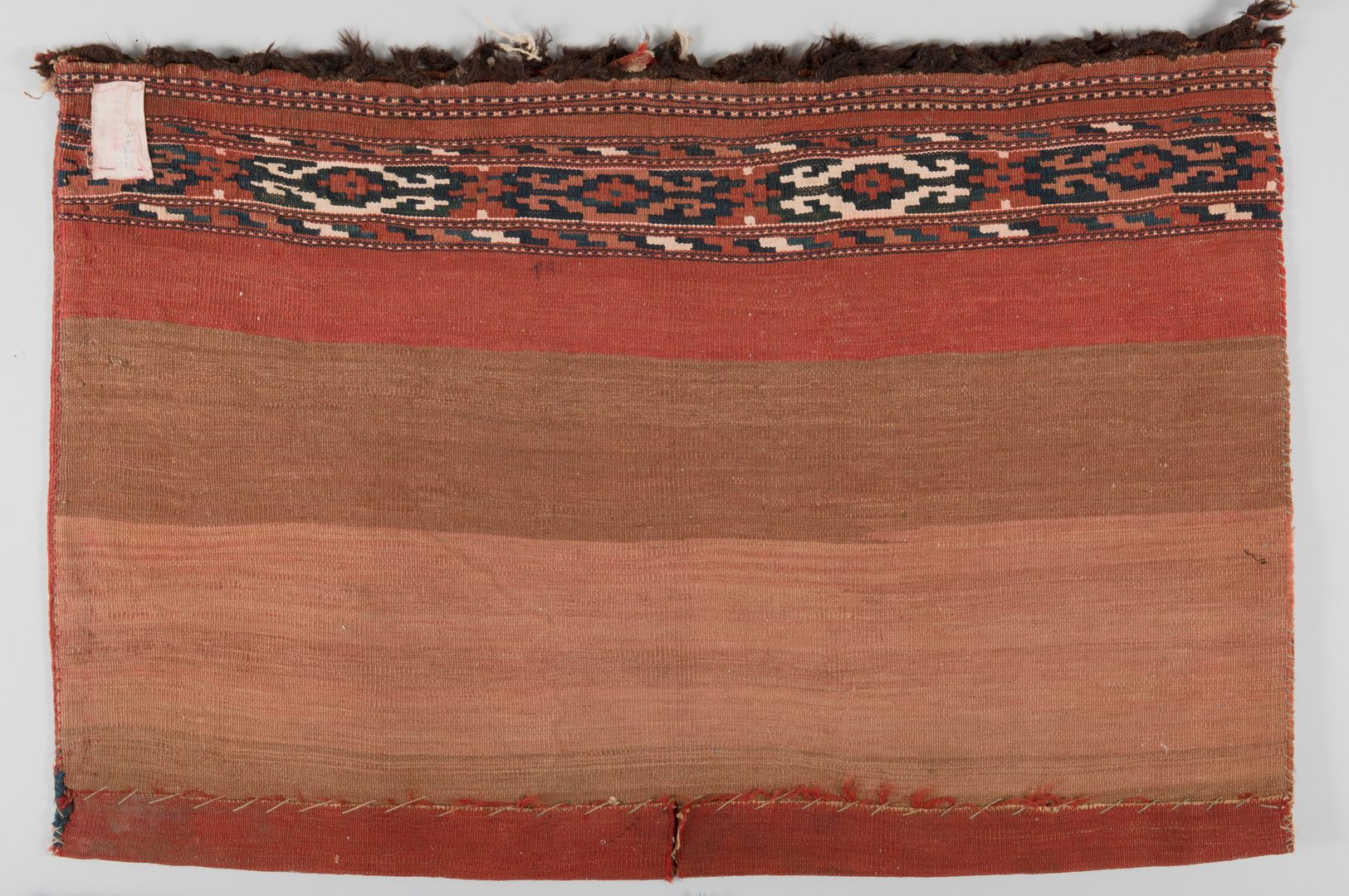 Lot 119: Two Turkoman Bags, early 20th c.