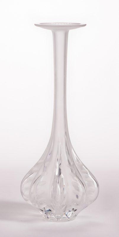 Lot 12: Lalique Marie Claude Vase