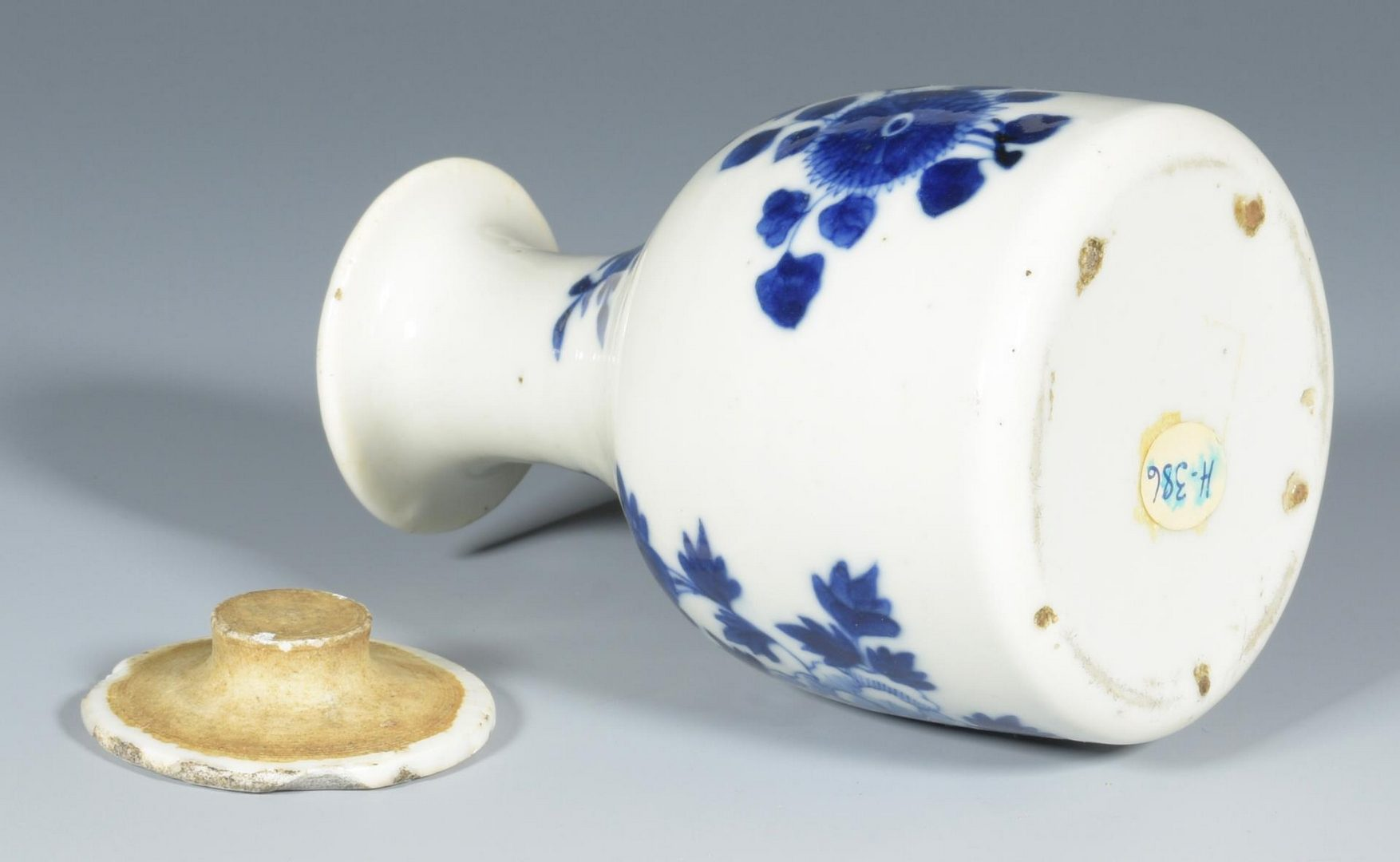 Lot 130: Asian Snuff bottle, Imari and Ewer – 4 items