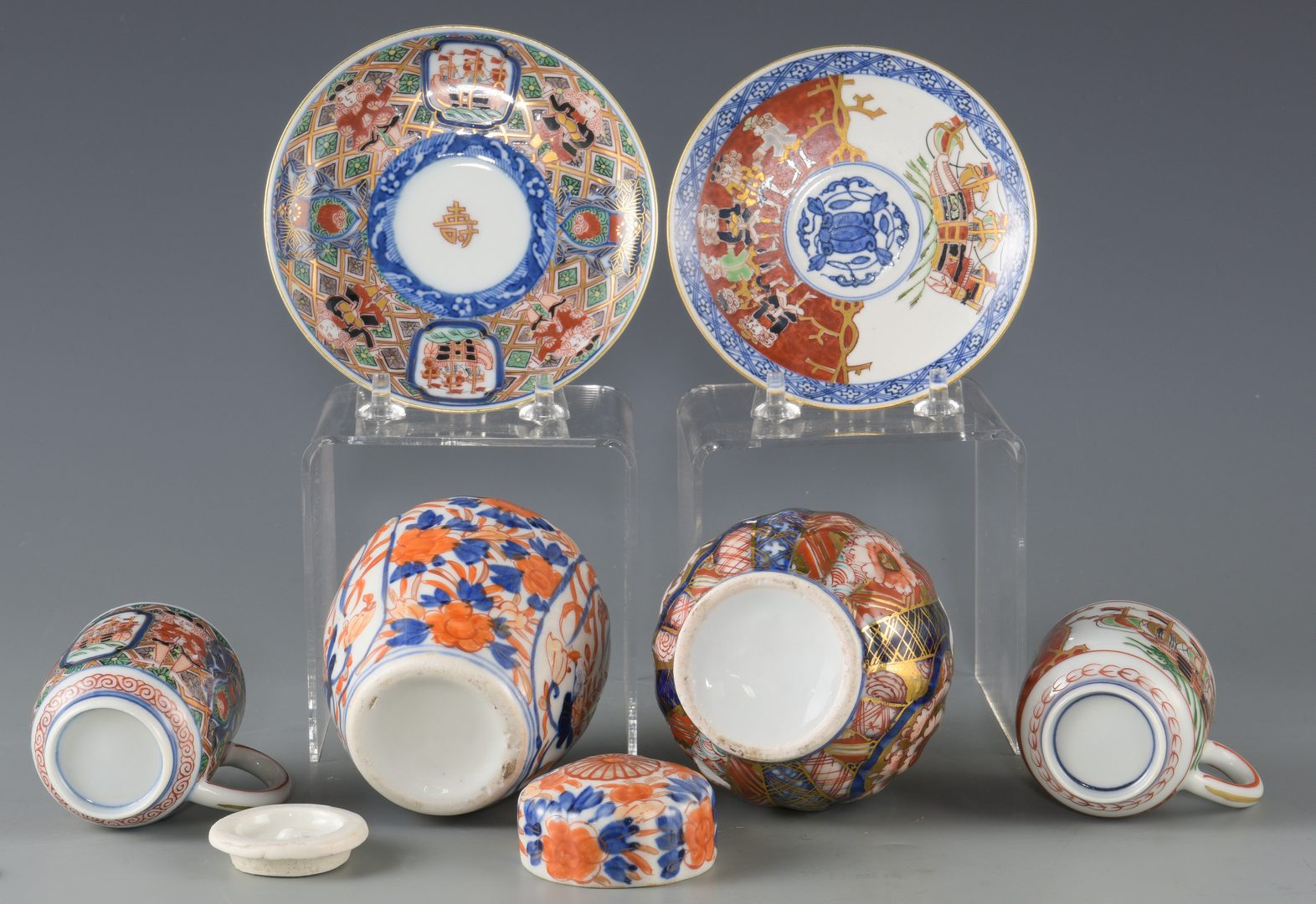Lot 139: Imari Porcelain, incl Black Ship
