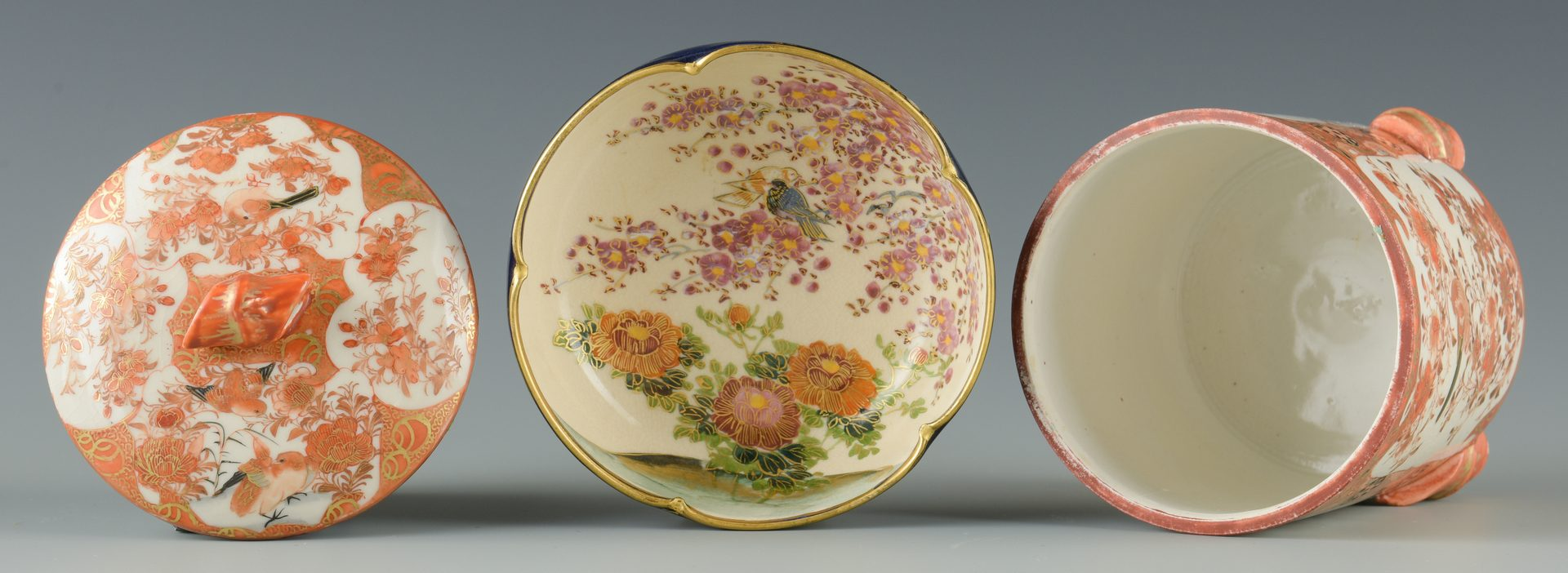 Lot 140: 5 Japanese Porcelain Items