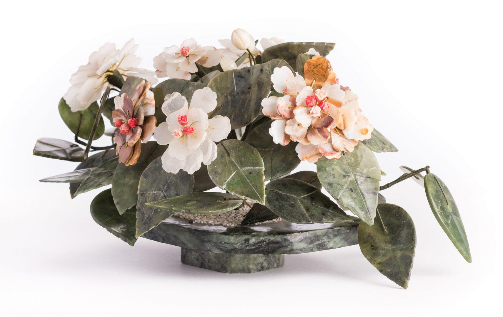 Lot 153: 3 Asian Hardstone Decorative Items
