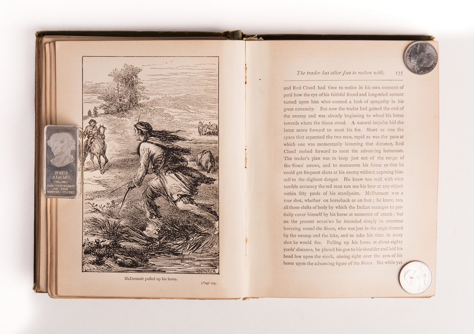 Lot 160: 8 Western Related Books, inc. Butler, Johnson, James