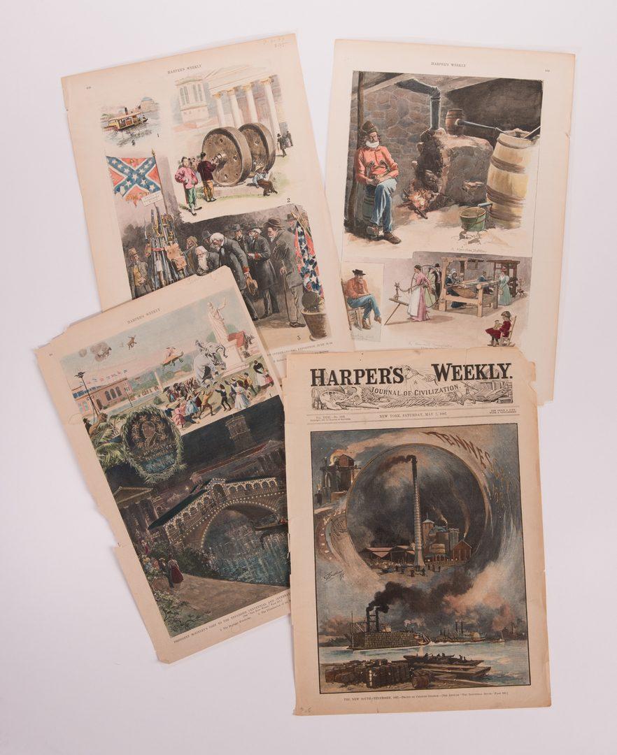 Lot 167: 29 TN Newsprints/Illustrations, inc. Harper's Weekly