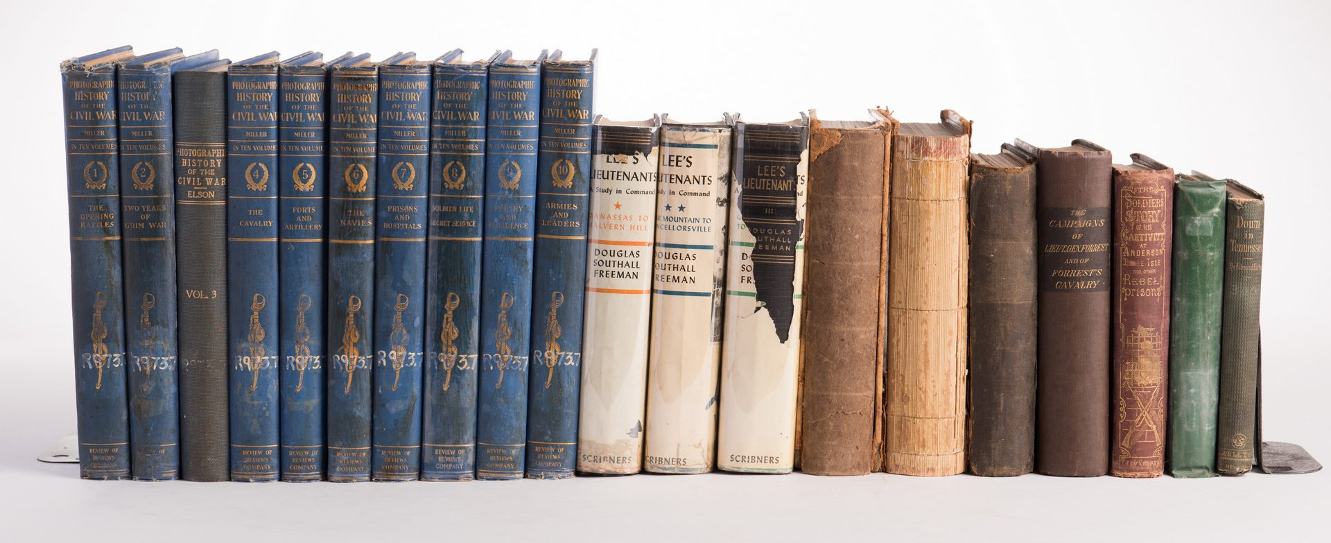 Lot 169: 20 Civil War Related Books
