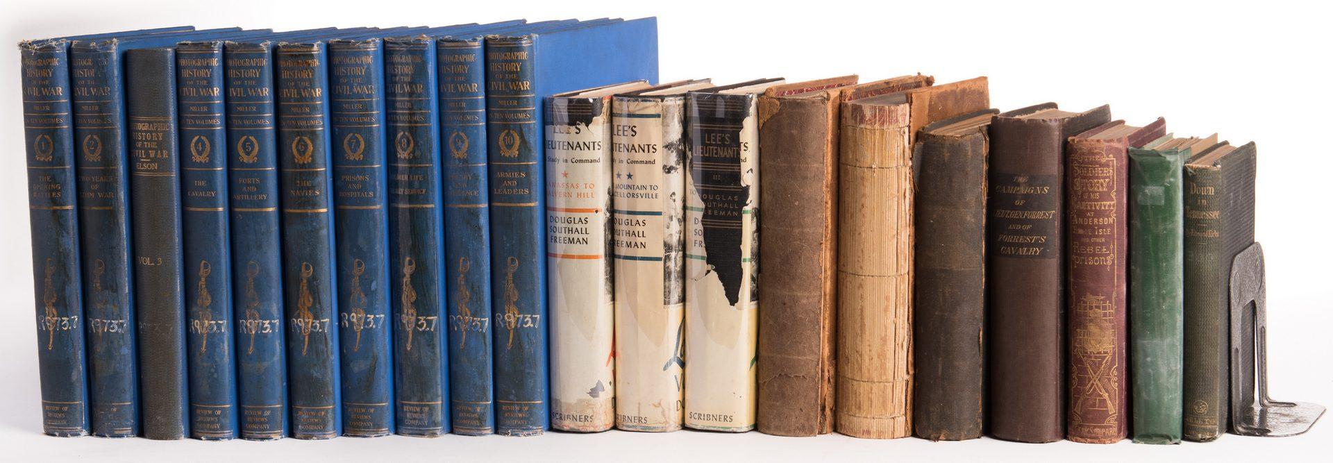 Lot 169: 20 Civil War Related Books