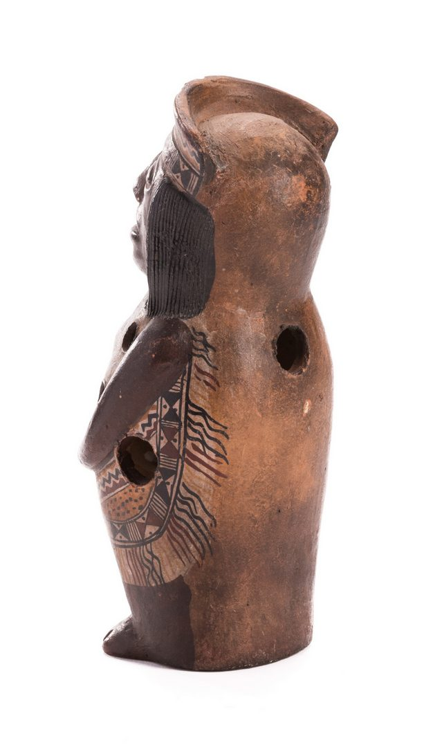 Lot 189: Pre-Columbian Tairona People Gayraca Style Ocarina