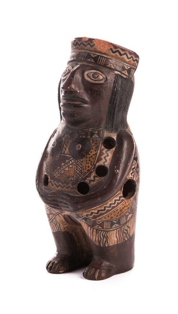 Lot 189: Pre-Columbian Tairona People Gayraca Style Ocarina