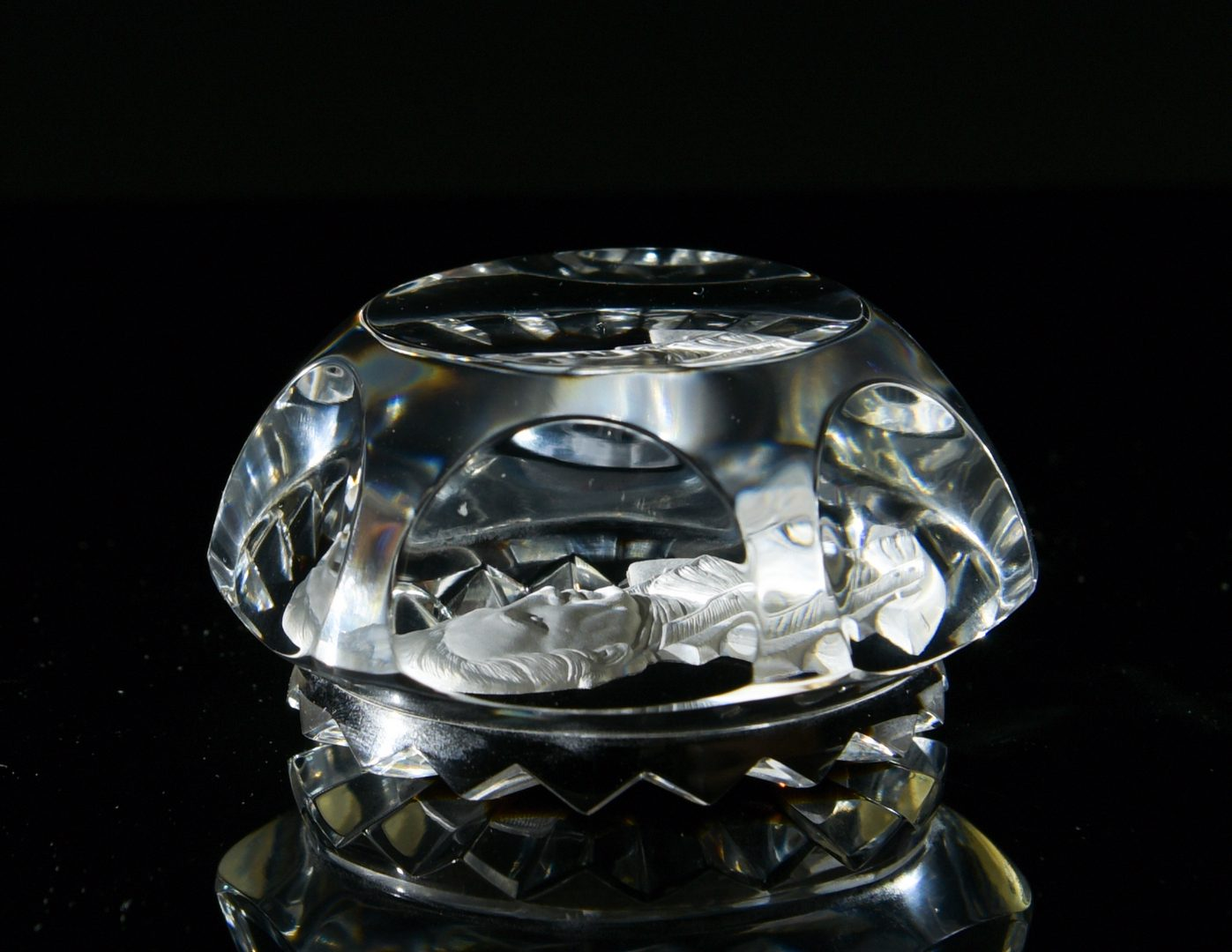 Lot 18: 4 Paperweights, Incl. Baccarat