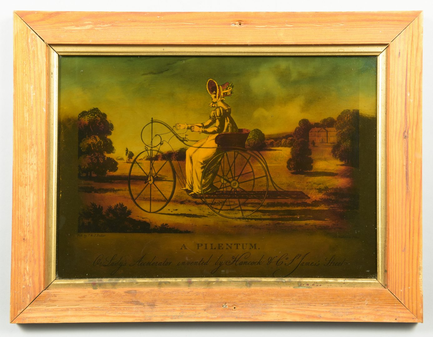 Lot 191: 5 Reverse Paintings on Glass