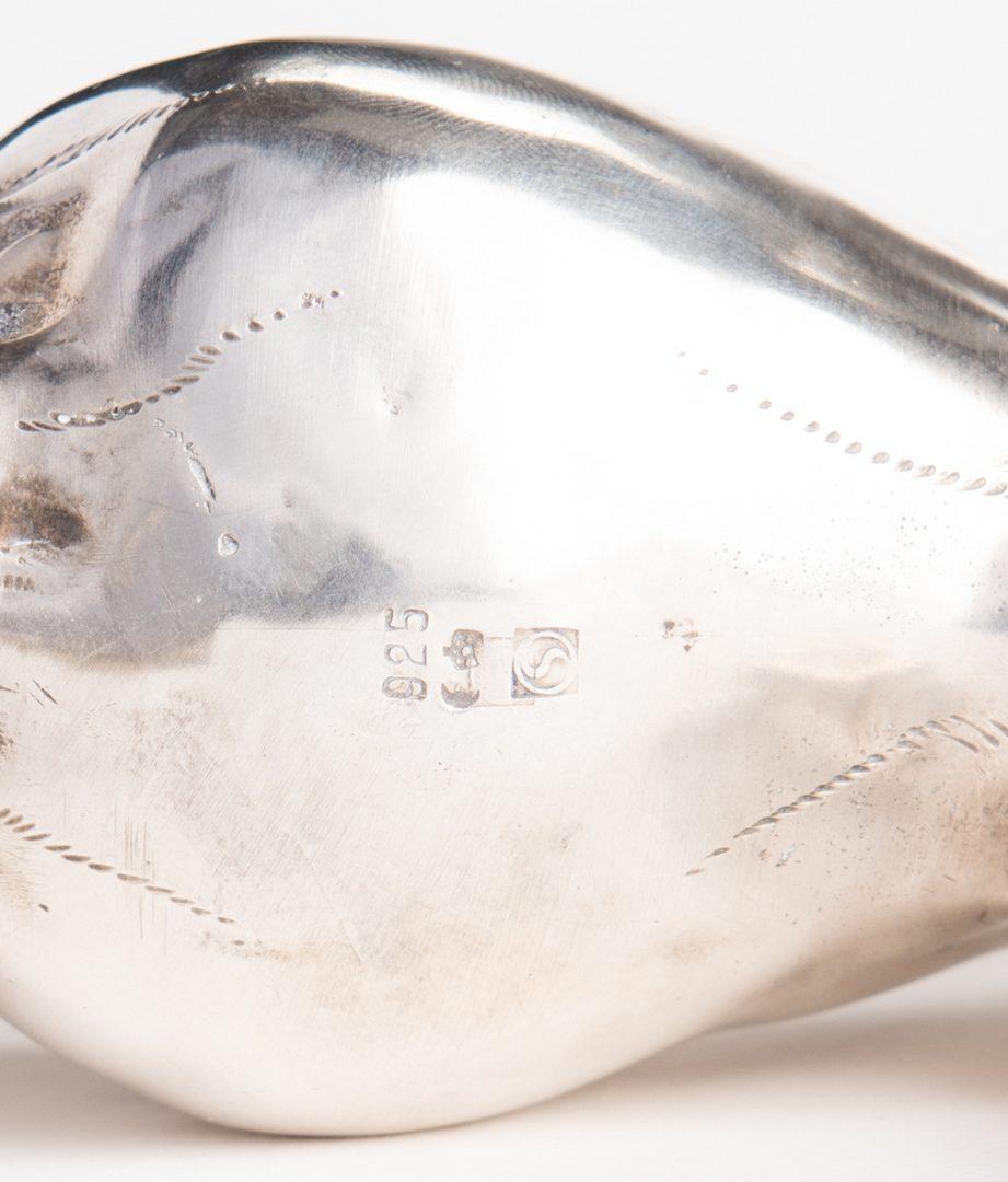 Lot 20: European Sterling Silver Cow Creamer