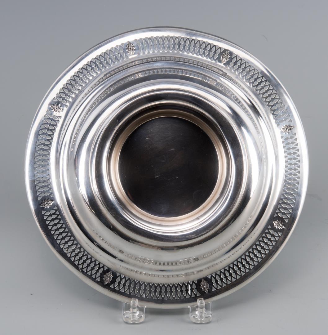 Lot 27: Assd. Sterling Hollowware inc. Vanity