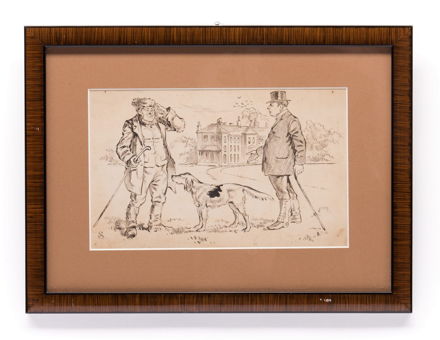 Lot 39: 7 Henry Ardmore Sandercock Rural Ink Drawings