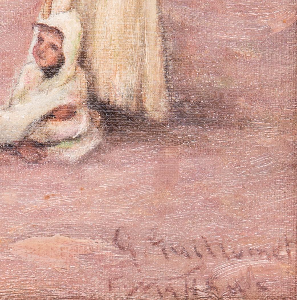 Lot 46: Orientalist Landscape Painting after Guillaumet