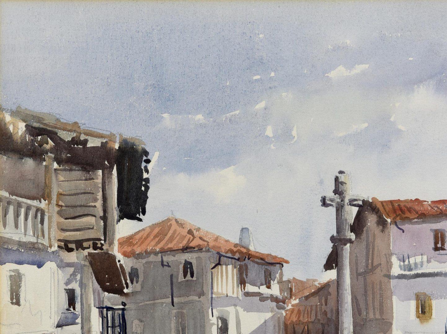 Lot 47: Vincente Pastor Calpena W/C