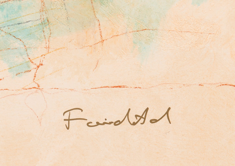 "Lot 4: Roy Fairchild Woodard Serigraph, ""Jeunesse"""