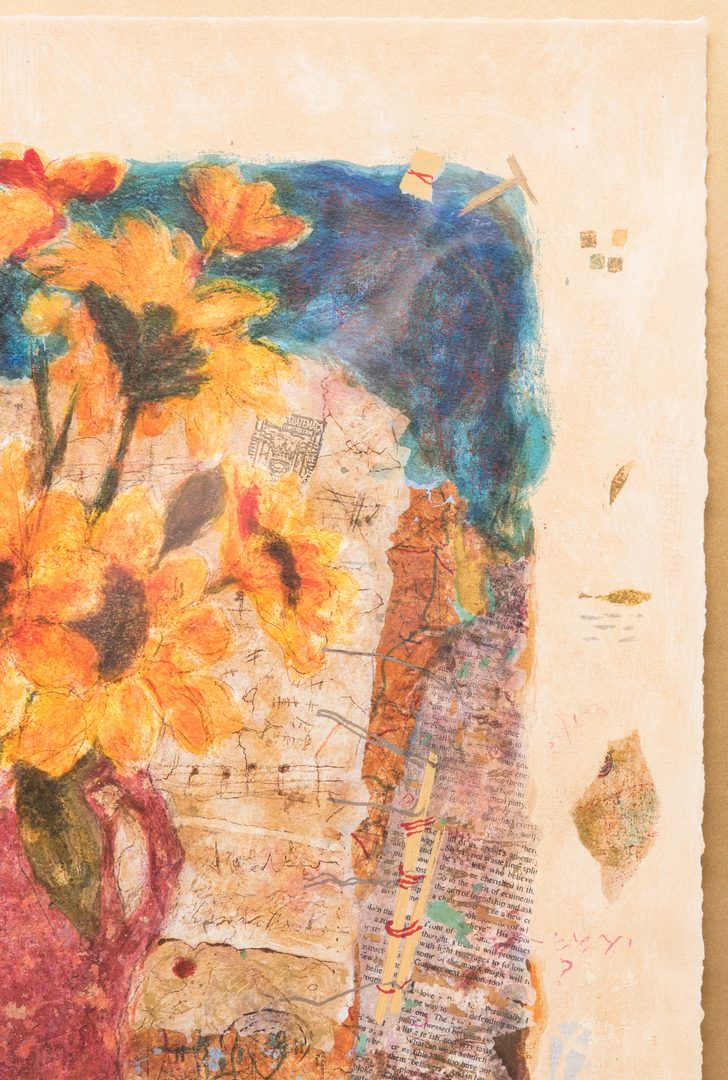 "Lot 5: Roy Fairchild Woodard Serigraph, ""Song for Molly"""