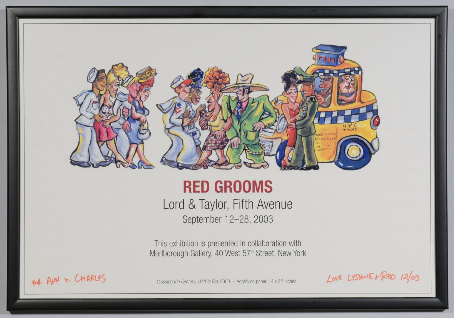 Lot 60: 3 Red Grooms Signed Posters plus Books