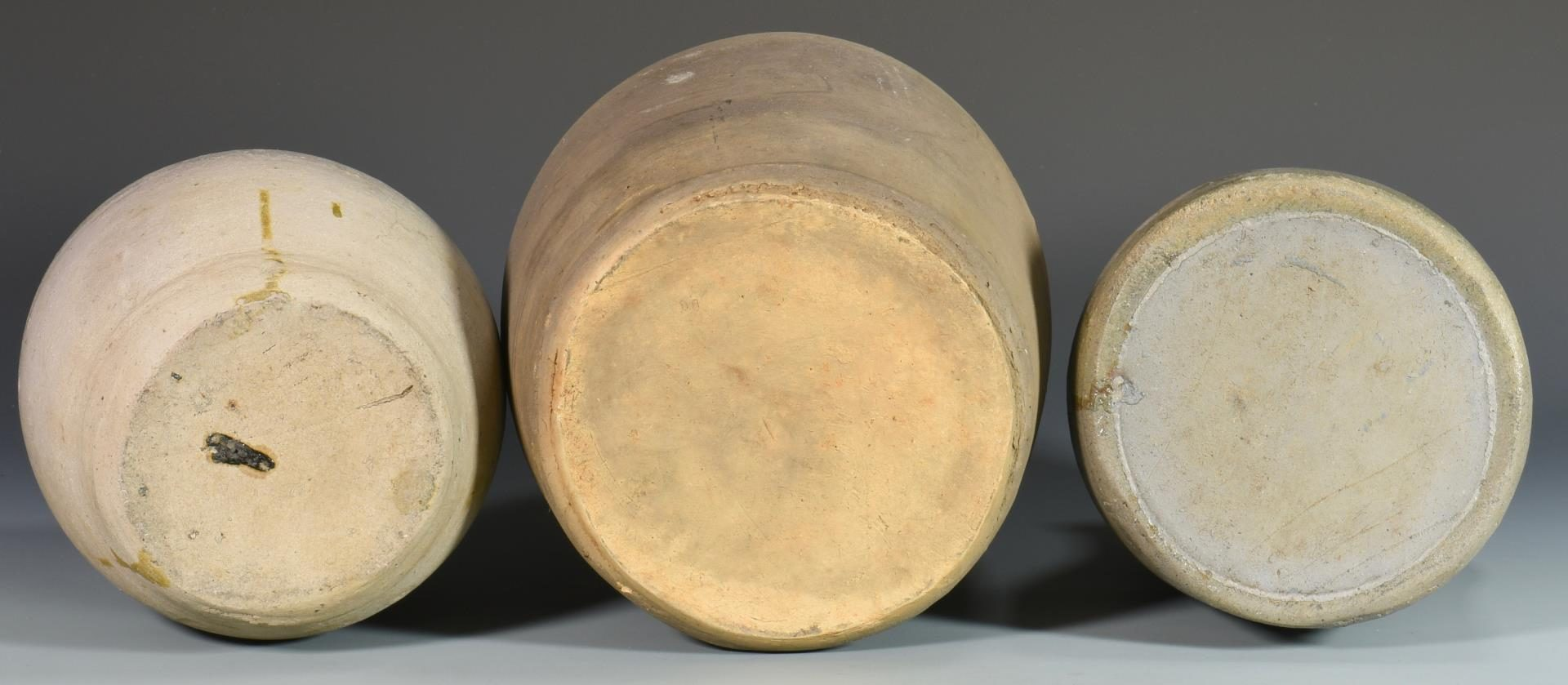 Lot 65: 3 Middle TN Stoneware Pottery Items