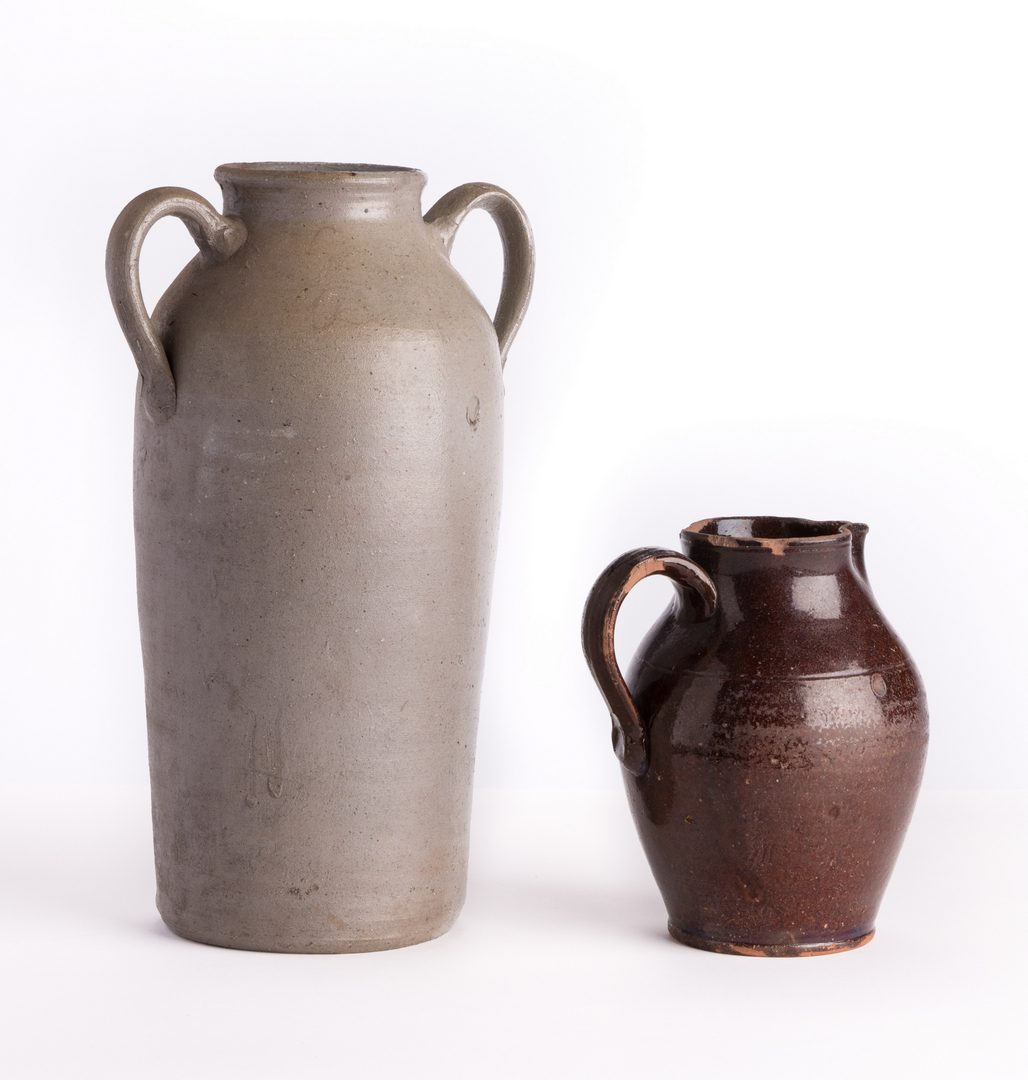 Lot 70: 4 Southern Pottery Items, AL & TN