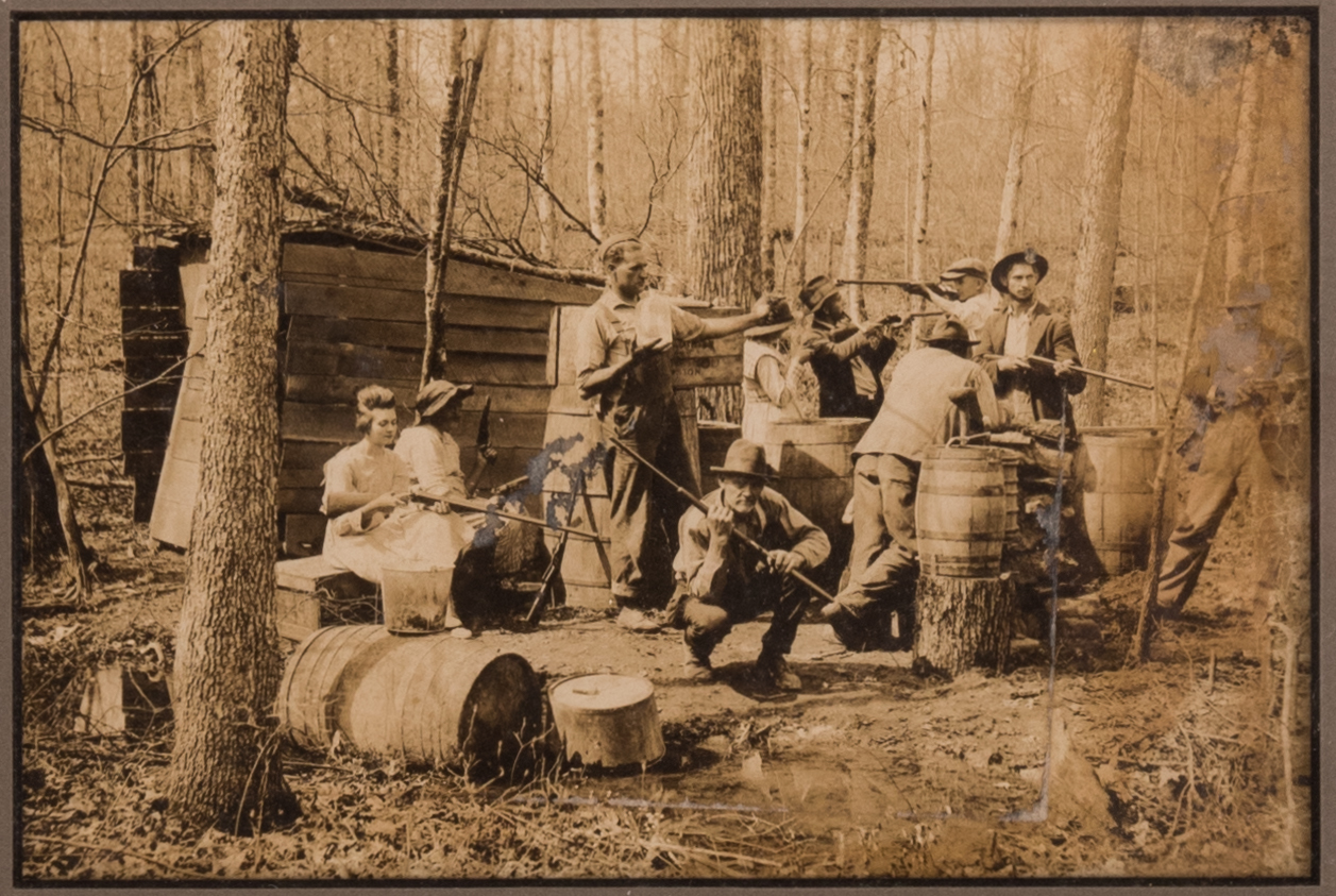 Lot 74: Moonshine Photograph w/ CDVs